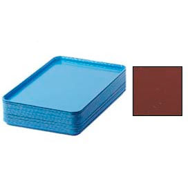 """Cambro 1826501 - Camtray 18"""" x 26"""" Rectangular,  Real Rust - Pkg Qty 6"""