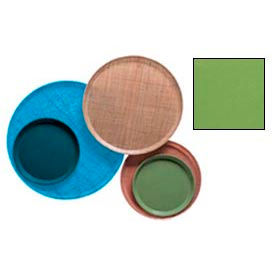 """Cambro 1950113 - Camtray 19.5"""" Round Low,  Lime-Ade - Pkg Qty 12"""