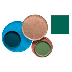 """Cambro 1950119 - Camtray 19.5"""" Round Low,  Sherwood Green - Pkg Qty 12"""