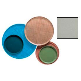 """Cambro 1950199 - Camtray 19.5"""" Round Low,  Taupe - Pkg Qty 12"""
