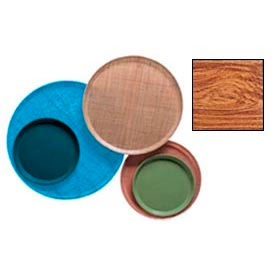 "Cambro 1950309 - Camtray 19.5"" Round Low,  Java Teak - Pkg Qty 12"