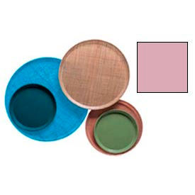 """Cambro 1950409 - Camtray 19.5"""" Round Low,  Blush - Pkg Qty 12"""
