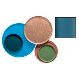 "Cambro 1950414 - Camtray 19.5"" Round Low,  Teal - Pkg Qty 12"