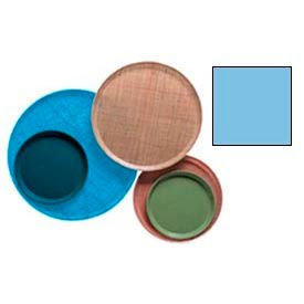 """Cambro 1950518 - Camtray 19.5"""" Round Low,  Robin Egg Blue - Pkg Qty 12"""