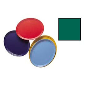 """Cambro 2500119 - Camtray 19"""" x 24"""" Oval,  Sherwood Green - Pkg Qty 6"""