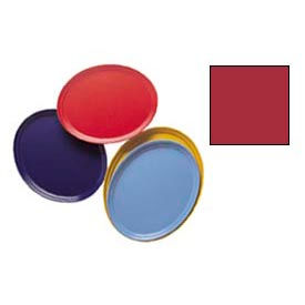 """Cambro 2500221 - Camtray 19"""" x 24"""" Oval,  Ever Red - Pkg Qty 6"""