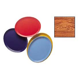 "Cambro 2500309 - Camtray 19"" x 24"" Oval,  Java Teak - Pkg Qty 6"