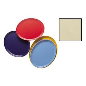 """Cambro 2500537 - Camtray 19"""" x 24"""" Oval,  Cameo Yellow - Pkg Qty 6"""