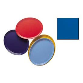 Cambro 2700123 - Camtray 22 x 26 Oval,  Amazon Blue - Pkg Qty 6