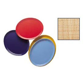 Cambro 2700204 - Camtray 22 x 26 Oval,  Rattan - Pkg Qty 6