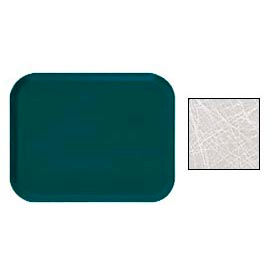 """Cambro 46215 - Camtray 4"""" x 6"""" Rectangle,  Abstract Gray - Pkg Qty 12"""