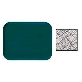 Cambro 810277 - Camtray 8 x 10 Rectangle,  Swirl Gray - Pkg Qty 12