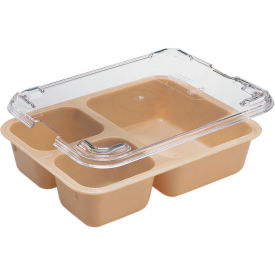 Cambro 853FCW133 - Tray, 3 Compartment, Beige - Pkg Qty 24