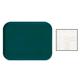 "Cambro 915246 - Camtray 9"" x 15"" Rectangle,  Doily Lite Peach - Pkg Qty 12"