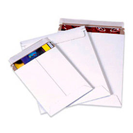 """Self-Seal Stayflat Mailer, 13""""W x 18""""L, White, 100 Pack"""