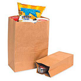 "#16 Grocery Bag 7-3/4""W x 4-3/4""D x 16""H 500 Pack"