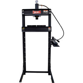 Dake 972210 F-10 Floor 10-ton Manual H-frame Press