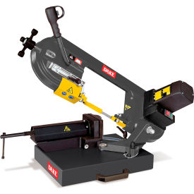 "Click here to buy 5"" x 8"" Benchtop/Portable Horizontal Band Saw 110V Dake SE-5X8."