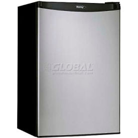 Danby® DCR044A2BSLDD Compact Refrigerator 4.4 Cu. Ft. Black/Stainless Steel