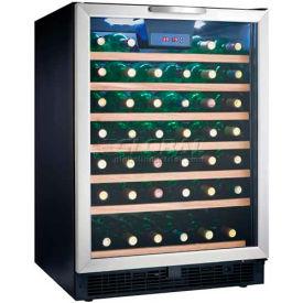 "Danby DWC508BLS - Wine Cooler, 50 Bottle, Built-in or Freestanding, LED Display, 23-3/4""W x 34-1/2""H"