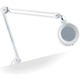 "Daylight™ 5"" White Slimline Magnifying Lamp"