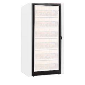 Rotary File Cabinet Components, Base Adder Unit, Letter, 6-High, Black
