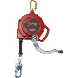 Rebel™ 3591000 Self Retracting Lifeline, 50' Retrieval SRL with Galvanized Cable