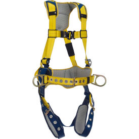DBI-SALA® Delta™ Comfort Construction Positioning Harness, Tongue Buckle & Pass Thru, L