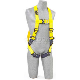 Delta™ Vest Style Harness 1102090, W/Back & Front D-Rings, Quick Connect Buckles, Universal