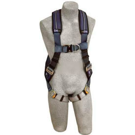 ExoFit™ XP Vest Style Harness 1109728, W/Front & Back D-Rings, Quick Connect Buckles, X-Large