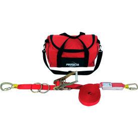 Protecta® 1200105 PRO-Line Temporary Horizontal Lifeline, 60'L, 310 Cap Lbs