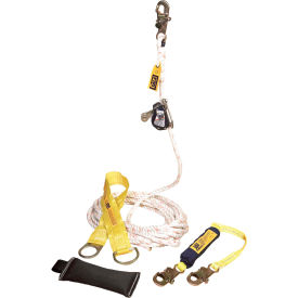 DBI-SALA® 5000401 Vertical Rope Grab System Kit, 100'L, 310 Cap Lbs