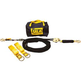 DBI-SALA® 7600507 Sayfline Synthetic Horizontal Lifeline System, 70'L, 310 Cap Lbs