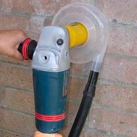 """Dust Muzzle DC Dust Collector for 1-2"""" Hole Saws"""