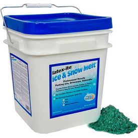 Latex-ite Sodium Chloride Ice and Snow Melt, 30 LB Pail - 12987