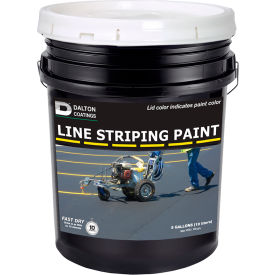 Latex-ite® 5 Gal. Line Striping Paint, Lead-Free, Fast Dry, White, 1 Each