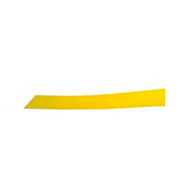 Del City 884 Yellow Expandable Sleeving- 1/2""