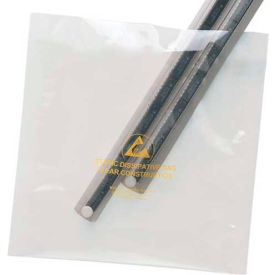 "Anti Static Bag Clear 12"" x 16"" 3.5mm 100 Pack"