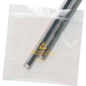 """Anti Static Zipper Bag Clear 4"""" x 6"""" 100 Pack"""