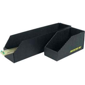"Protektive Pak 37111 ESD Open Bin Box, 4-1/4""W x 24-3/4""D x 4-1/2""H - Pkg Qty 10"