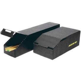 """Protektive Pak 37595 ESD Closed Bin Box, 4""""W x 24-3/4""""D x 4-1/4""""H"""