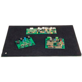 "Protektive Pak 37800 Tek-Mate Board Handling Work Surface, Male Snap, 12""L x 18""W x 1/2""H"
