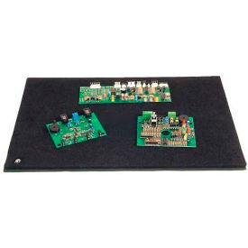 "Protektive Pak 37801 Tek-Mate Board Handling Work Surface, Male Snap, 18""L x 24""W x 1/2""H"