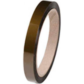 """ESD Tape Polyimide Hi Temp 1/4"""" x 36 Yds"""