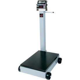 "Detecto 8852F-204 NTEP Digital Receiving Scale 1000lb x 0.5lb/ 440kg x 0.2kg 19"" x 28"" Platform"