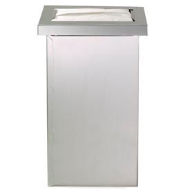 Dispense-Rite® Built-In Vertical Napkin Dispenser - Stainless Steel