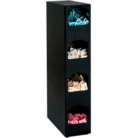 Dispense-Rite® Countertop Vertical Condiment Organizer - 4 Sections