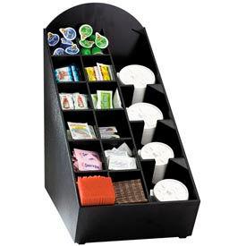 Dispense-Rite® Counter Lid, Straw, Condiment, Napkin Organizer-Straight Top
