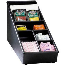 Dispense-Rite® Countertop Lid, Straw & Condiment Organizer - Narrow