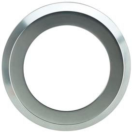 Dispense-Rite® Silver Satin Color Ring Bezel for STL Series Cup Dispenser